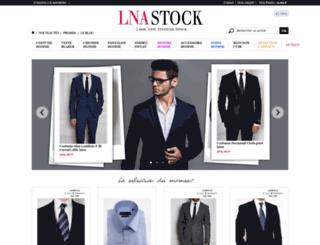 lnastock.com screenshot