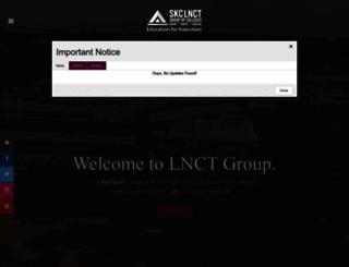 lnctgroup.in screenshot