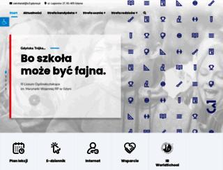 lo3.gdynia.pl screenshot