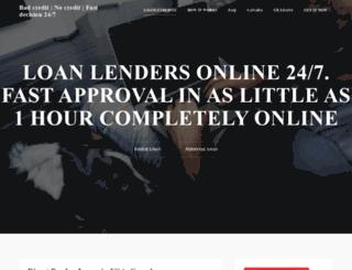 loanlenders24.com screenshot