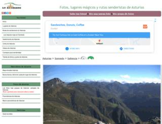 loasturiano.com screenshot