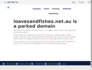 loavesandfishes.net.au screenshot