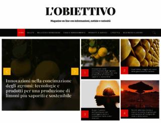 lobiettivonline.it screenshot