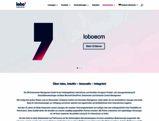 lobodms.com screenshot
