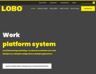 lobosystems.com screenshot