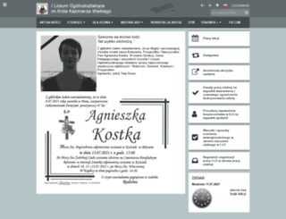 lobrzozow.edupage.org screenshot