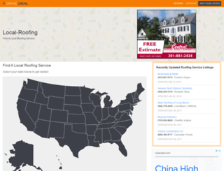 local-roofing.net screenshot