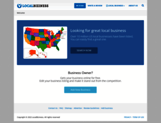 localbiziness.com screenshot