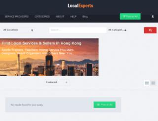 localexperts.hk screenshot