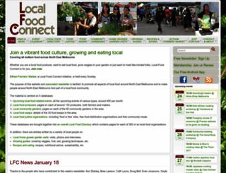 localfoodconnect.org.au screenshot
