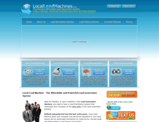 localleadmachines.com screenshot