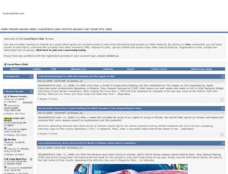 localracechat.com screenshot