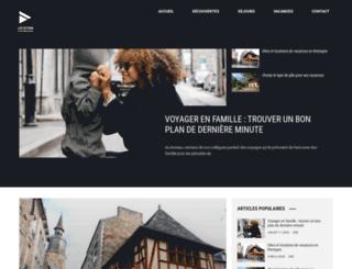 location-gites-bretagne.fr screenshot