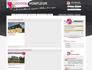 location-honfleur.com screenshot