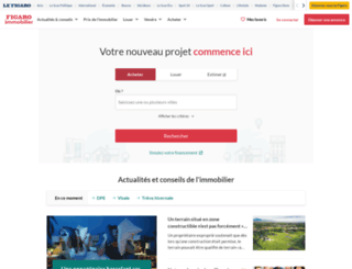 location-vente-immobilier.leparisien.fr screenshot