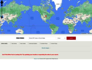 locations.vans.com screenshot