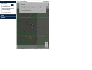 locatorsearch.uvacreditunion.org screenshot