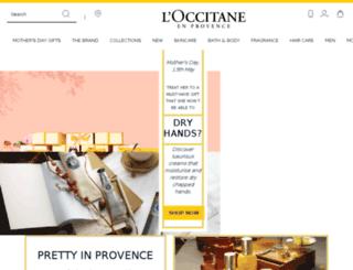 loccitane.com.au screenshot