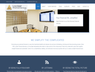 lockerfinancial.com screenshot