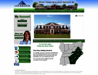 lockridgehomes.com screenshot