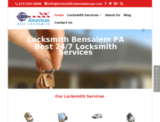 locksmith-bensalem-pa.com screenshot