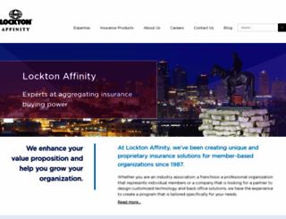 locktonaffinity.com screenshot