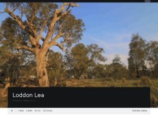 loddonlea.com screenshot