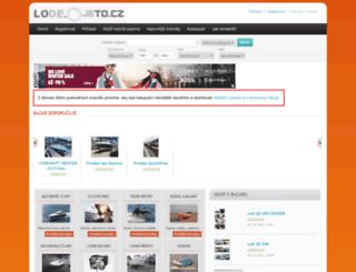 lode.ojeto.cz screenshot
