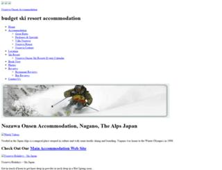 lodgenagano.com screenshot