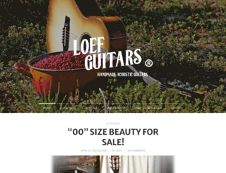 loefguitars.fi screenshot