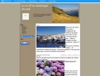 loetjfenameriquedusud.uniterre.com screenshot