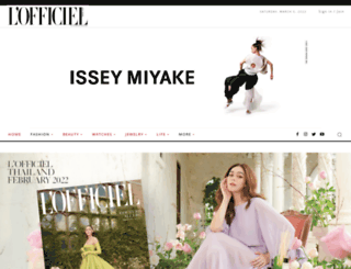lofficielthailand.com screenshot