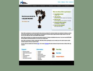 loganalyzer.net screenshot