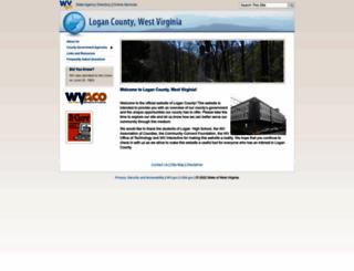 logancounty.wv.gov screenshot