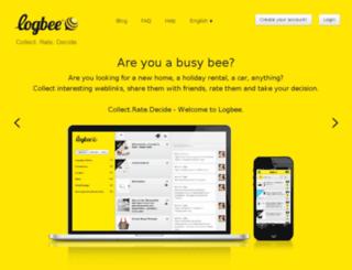 logbee.com screenshot