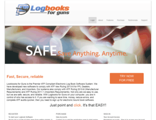 logbooksforguns.com screenshot