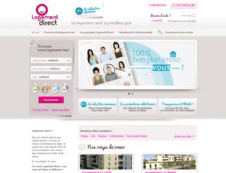 logementdirect.fr screenshot