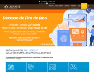 logicadigital.com.br screenshot