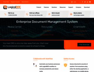 logicaldoc.com screenshot