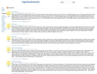 logicbookmarks.com screenshot