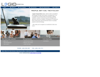 logiccorporation.com screenshot