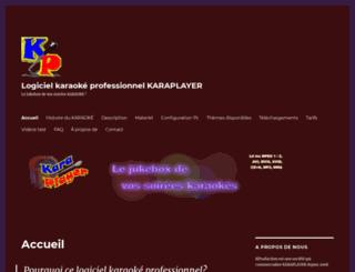 logiciel-karaoke.fr screenshot