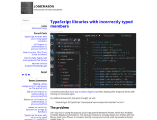 logicmason.com screenshot