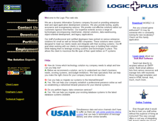 logicplusinc.com screenshot