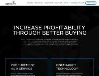logicsource.com screenshot
