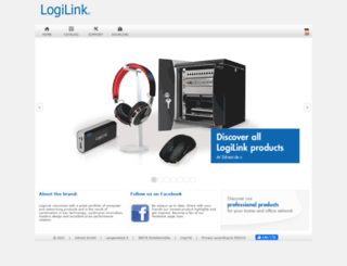 logilink.eu screenshot