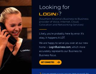 login.com screenshot