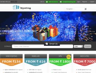 login.iiwhosting.com screenshot