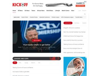 login.kickoff.com screenshot