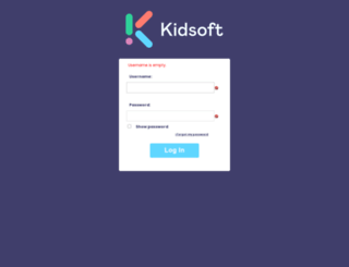 login.kidsoft.com.au screenshot